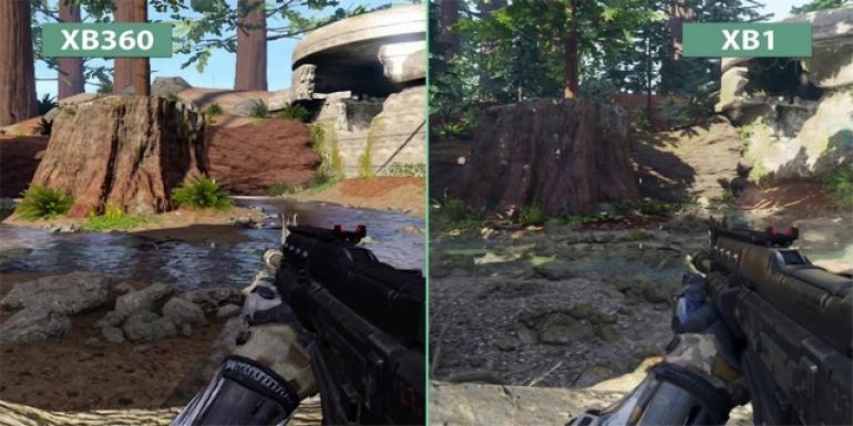 Call Of Duty Black Ops Iii Xbox One Vs Xbox 360 Capturas De